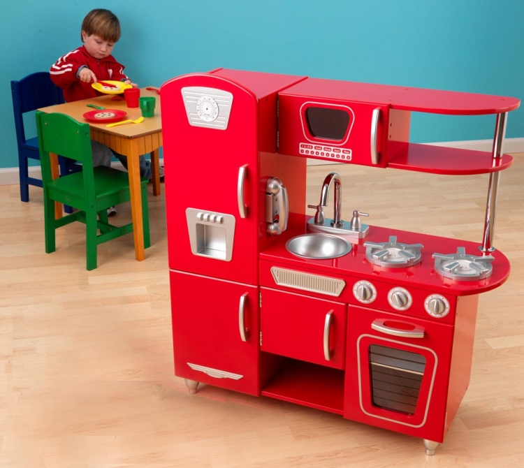 Vintage Kitchen - Red - KidKraft