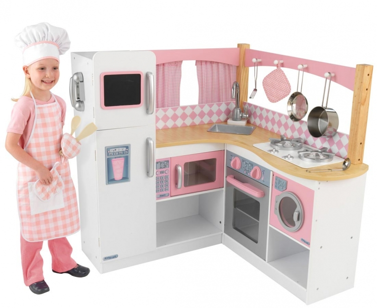 Grand Gourmet Corner Kitchen - KidKraft
