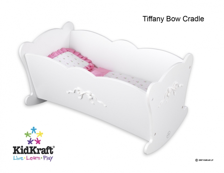 Tiffany Bow Lil Doll Cradle - Kidkraft
