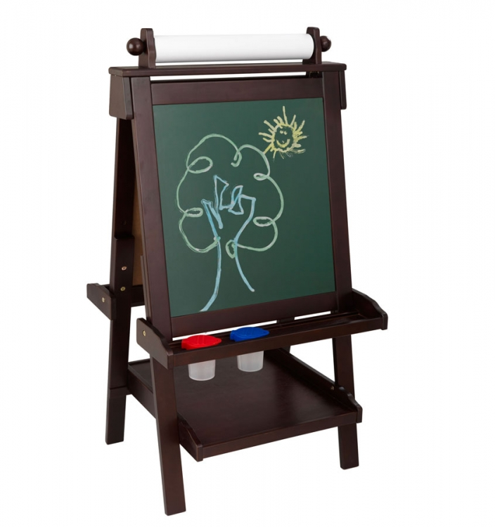 Deluxe Wood Easel - Espresso