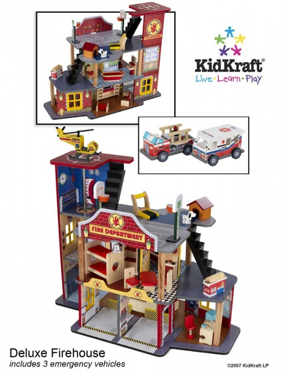 Deluxe Fire Rescue Set - Kidkraft