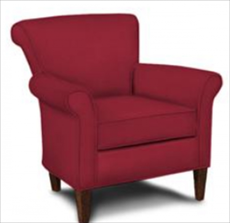 Louise Chair - Willow Blaze red