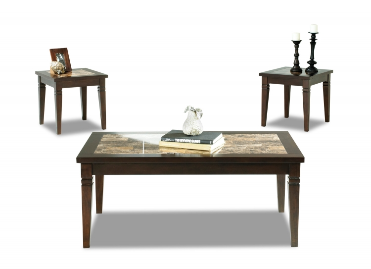 Allendale Cocktail Table and Two End Tables
