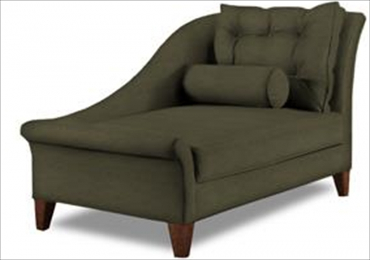 Lincoln Chaise Lounge - Microsuede Thyme