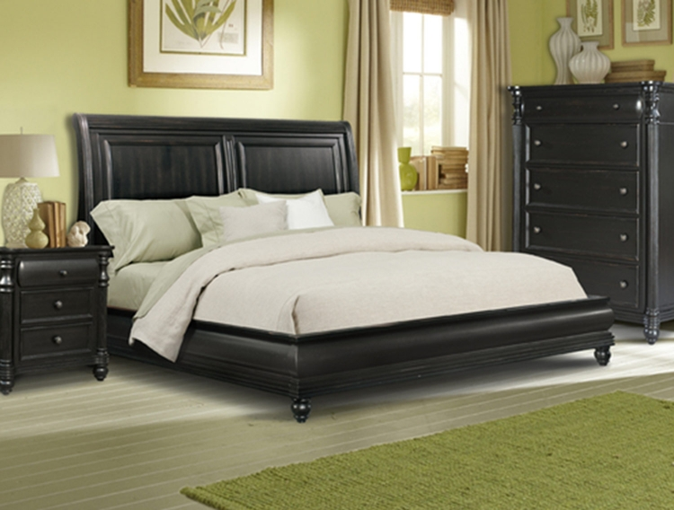 Westport Sleigh Bed
