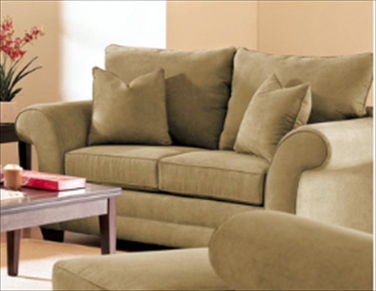 Holly Loveseat - Willow Olive