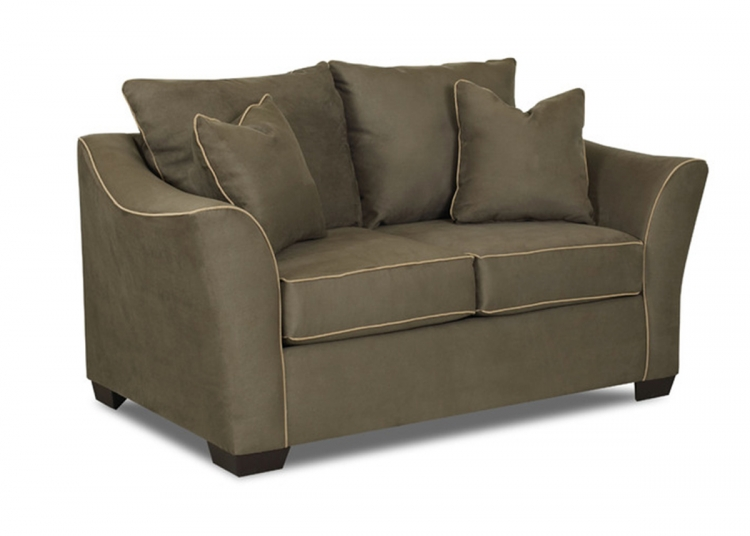 Thompson Loveseat - Microsuede Thyme