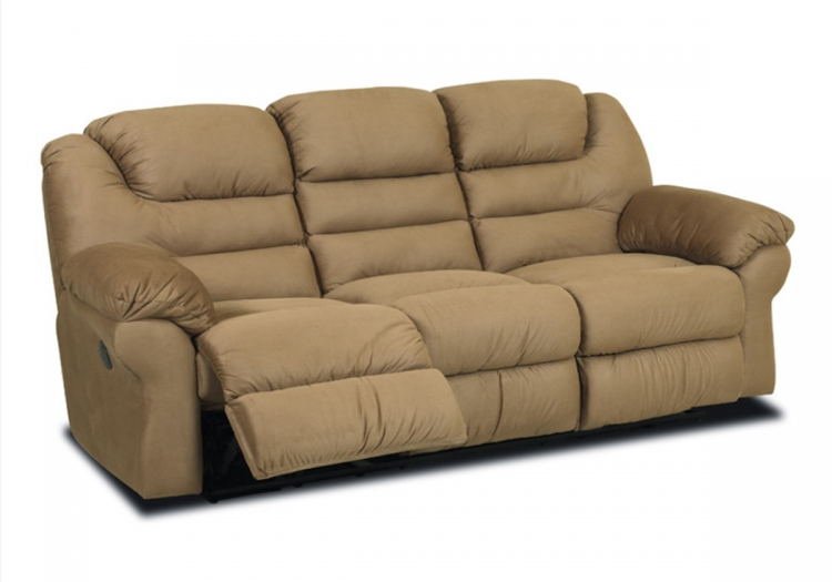 Contempo Power Reclining Sofa - Manford Brown