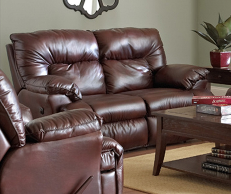 Laramie Power Reclining Loveseat - Raleigh Tobacco
