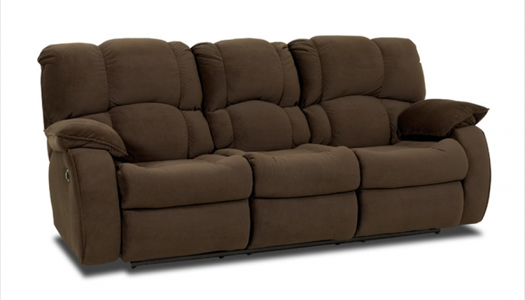 Travis Reclining Sofa - Swaddle Brown