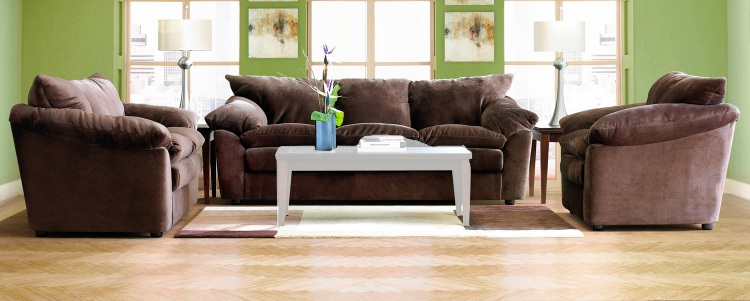 Heights Sofa Set - Challenger Chocolate
