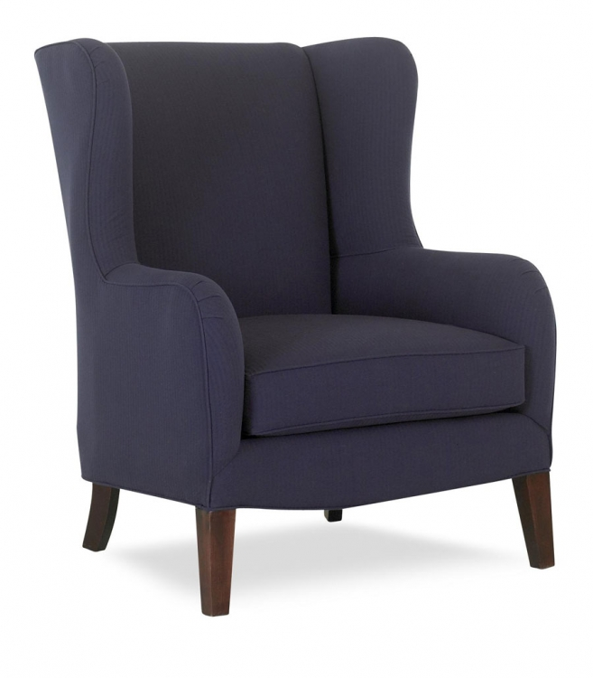 Polo Chair - Arod Indigo - Klaussner