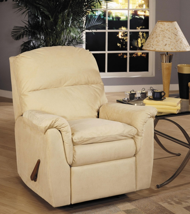 Shellburne Swivel Gliding Reclining Chair - Klaussner