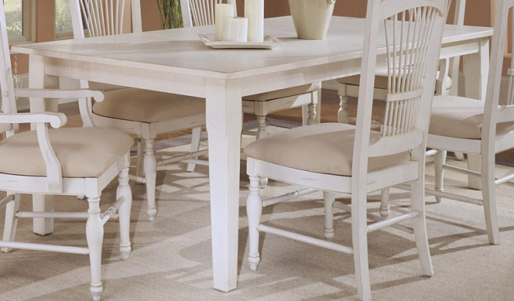 Treasures White Dining Table