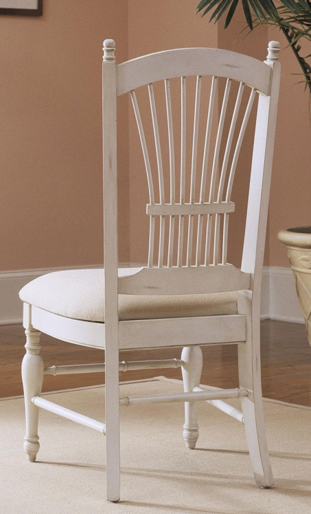 Treasures White Dining Chair