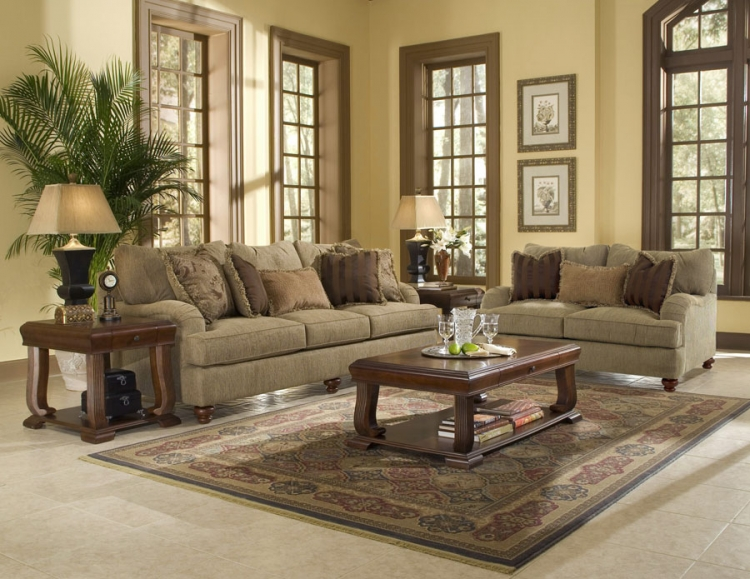 Walker Sofa Set - Klaussner
