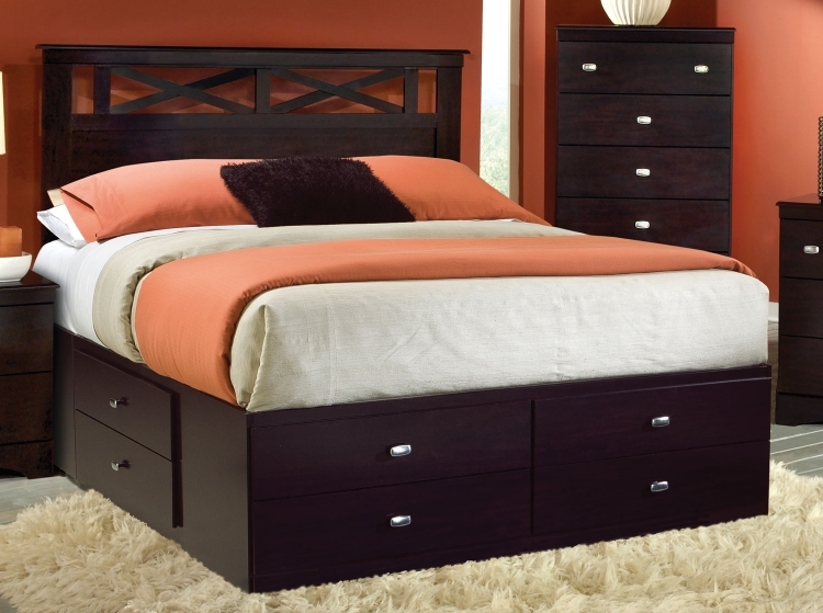 Tyler Panel Storage Bed