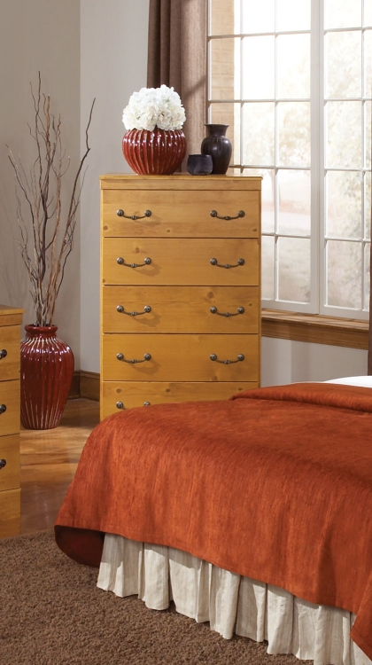Kenneth Creek 5 Drawer Chest
