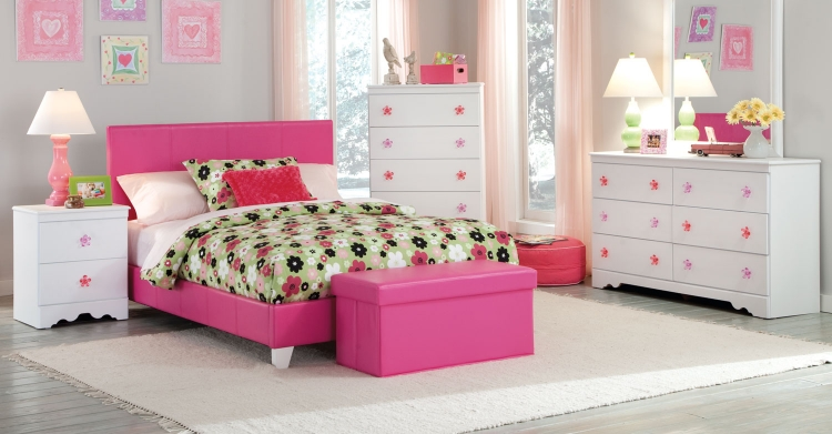 Savannah Bedroom Set - Pink