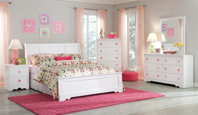 Savannah Sleigh Bedroom Set