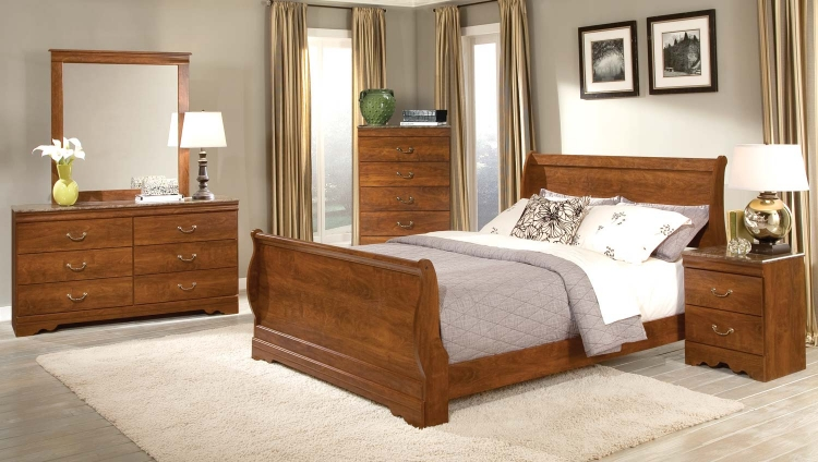 Amy Lynn Sleigh Bedroom Set