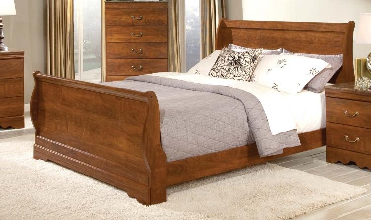Amy Lynn Sleigh Bed