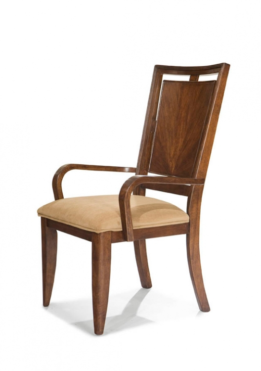 Skyline Wood Back Arm Chair - Legacy Classic