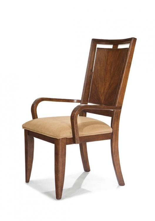 Skyline Wood Back Arm Chair