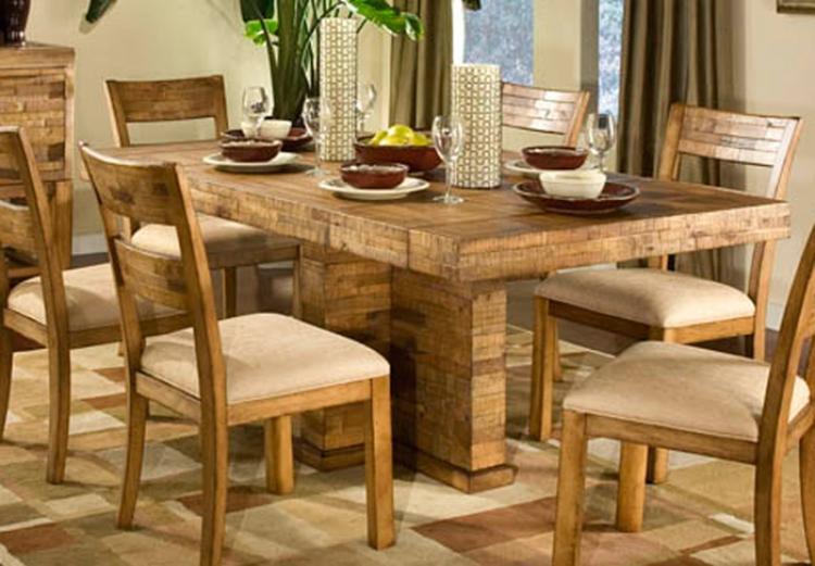 Latitude Rectangular Pedestal Table