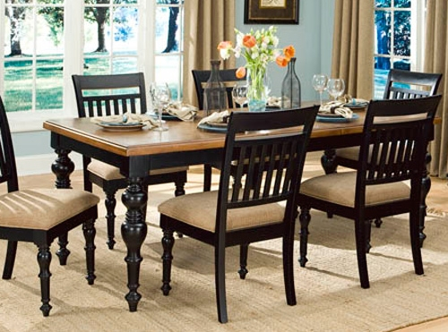 Highland Hills Rectangular Leg Table