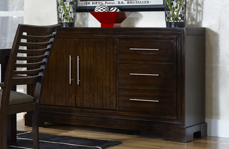 Forum Credenza with Expandable Top