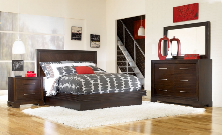 Forum Platform Bedroom Set - Legacy Classic