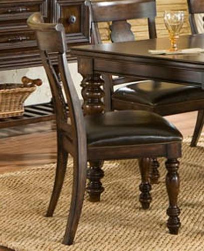 Havana Splat Back Side Chair