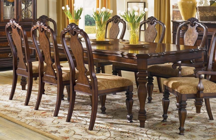 Royal Tradition Rectangular Leg Table - Legacy Classic