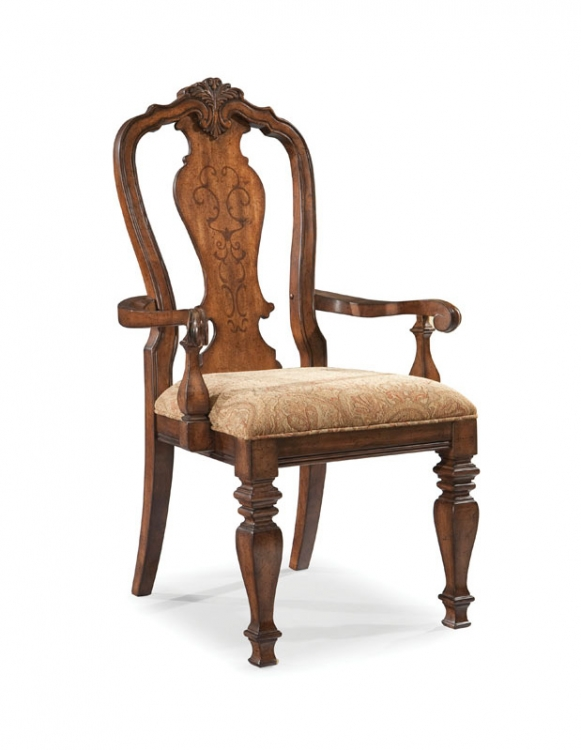 Royal Tradition Splat Back Arm Chair