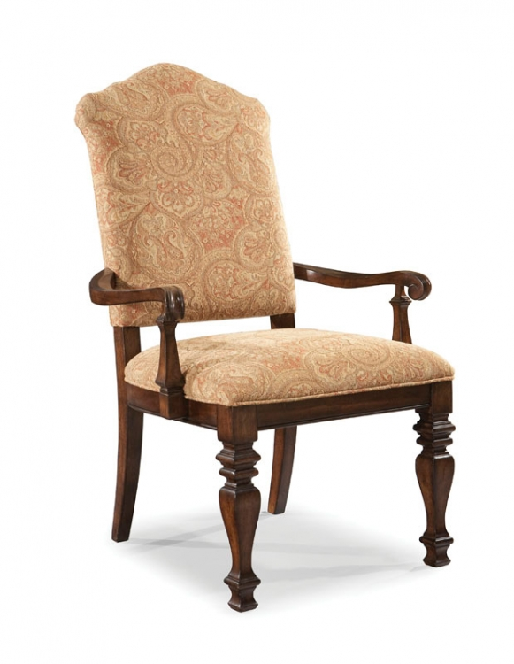 Royal Tradition Upholstered Back Arm Chair