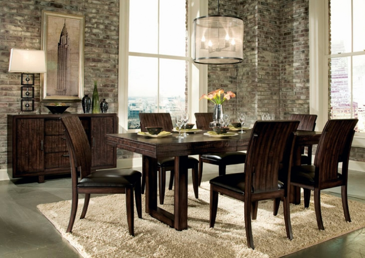 Portland Rectangular Dining Set