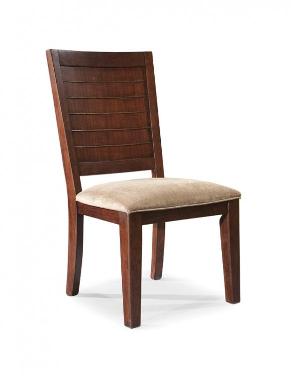 Portfolio Wood Back Side Chair