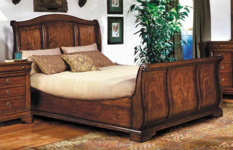 Vintage Sleigh Bed