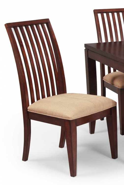 Lawson Slat Back Side Chair - Medium Cherry