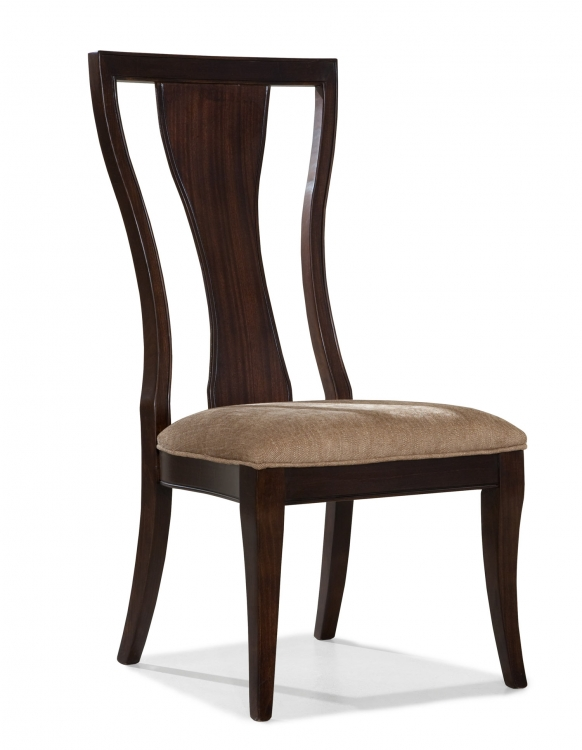 Laurel Heights Splat Back Side Chair - Dark Truffle