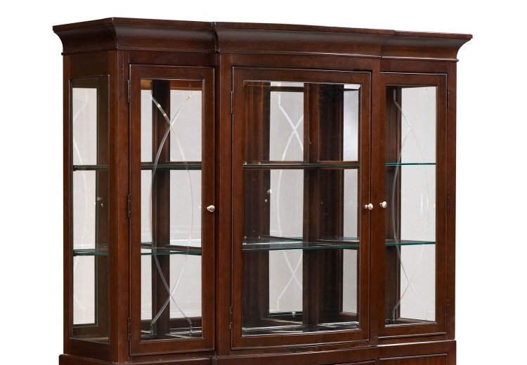 Legacy Classic Laurel Heights China Hutch - Dark Truffle