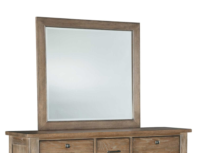 Brownstone Village Mirror for Dresser - Aged Patina