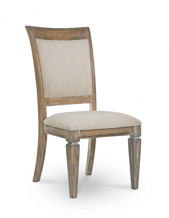 Brownstone Village Upholstered Back Side Chair - Aged Patina