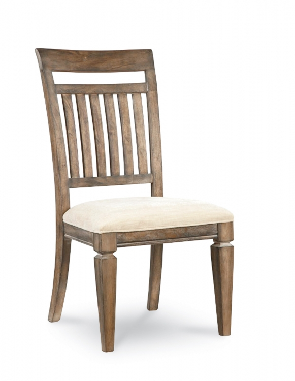 Brownstone Village Slat Back Side Chair - Aged Patina