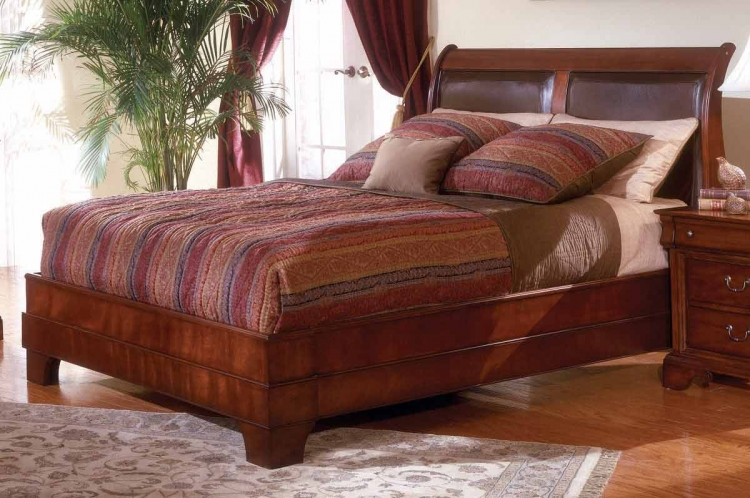 Chateau Louis Platform Bed
