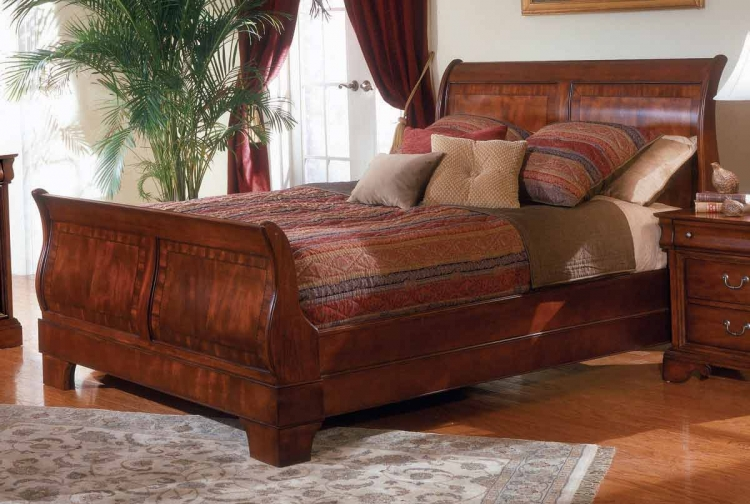 Chateau Louis Sleigh Bed