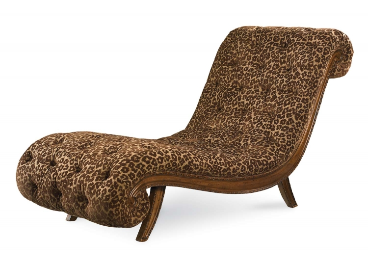 Pemberleigh Bunching Chaise - Brandy/Burnished Edges