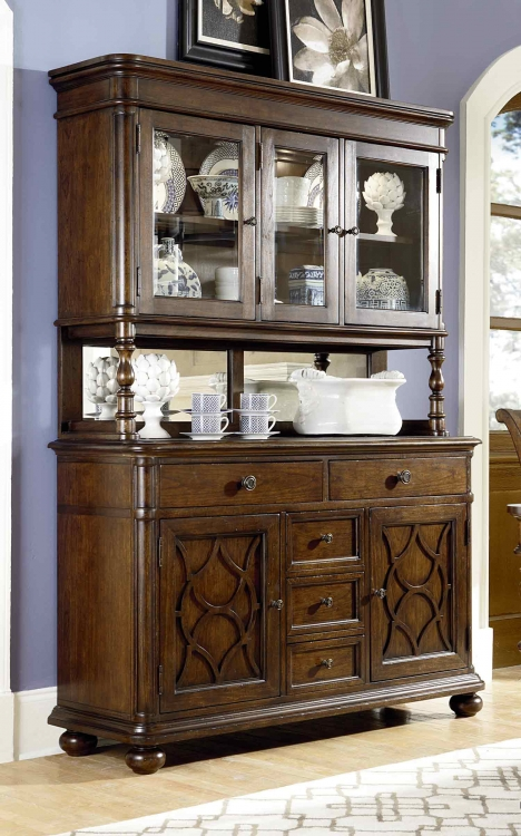 Thornhill China Cabinet - Cinnamon