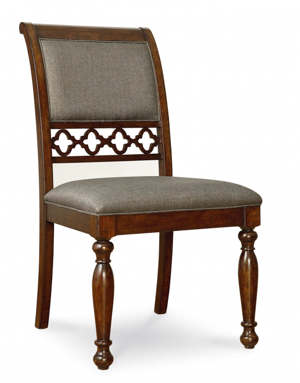 Thornhill Upholstered Side Chair - Cinnamon